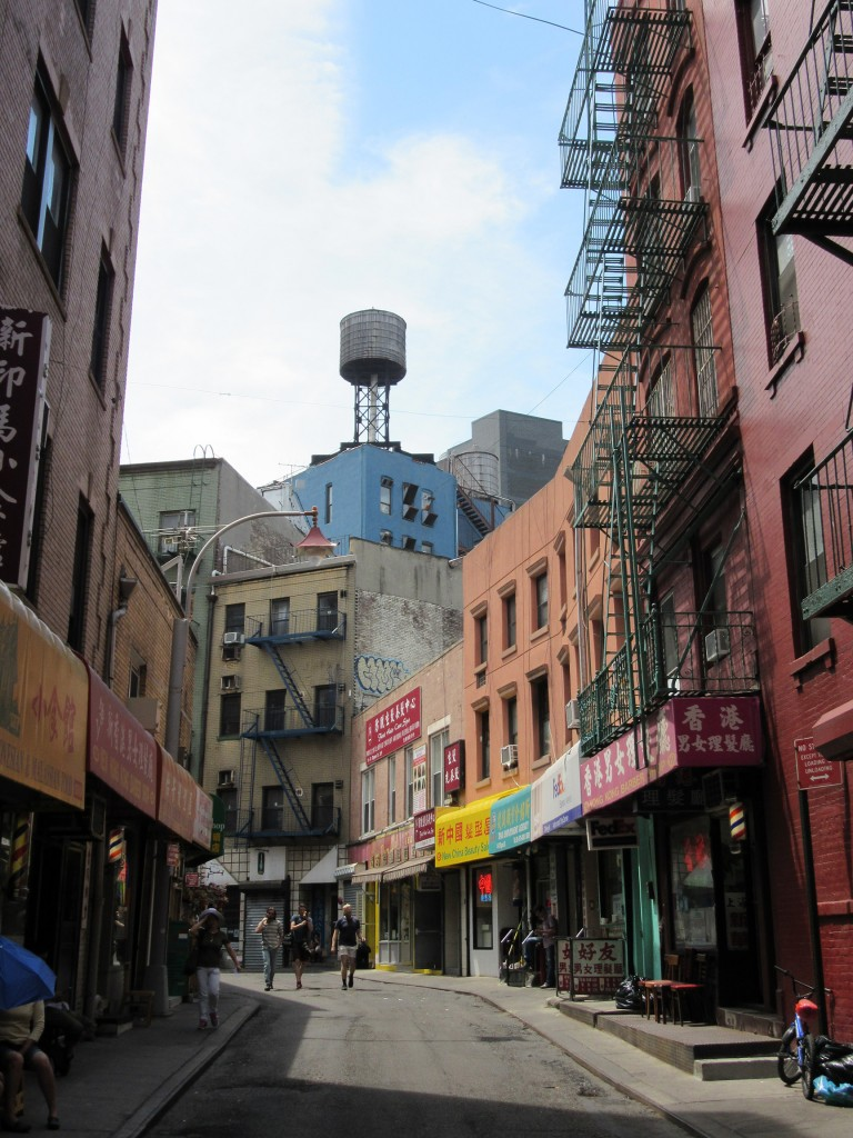 Doyers Street à Chinatown