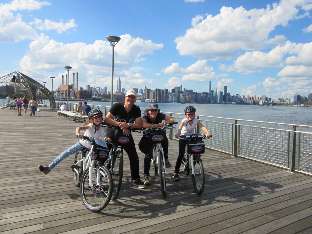Visiter New York en Velo