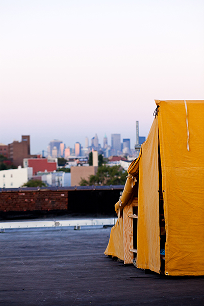 New York en solo seul Bivouac Rooftop New York