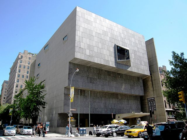 New York en solo seul Whitney Museum of American Art