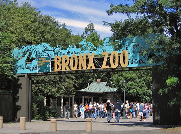 Entrée du Bronx Zoo