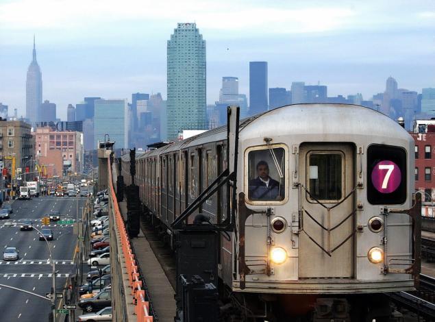 "La ""Line 7"" du Queens"