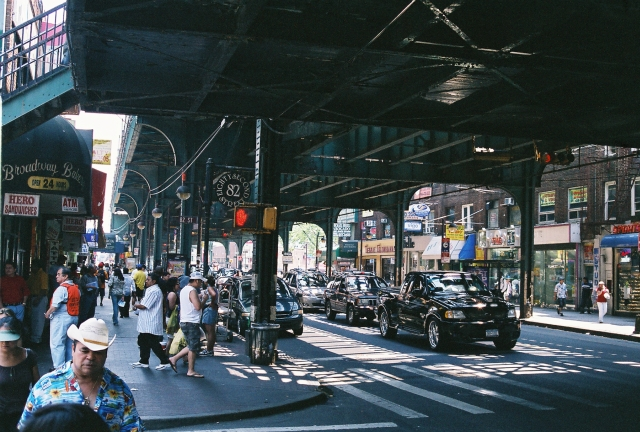 Roosevelt Avenue à Astoria