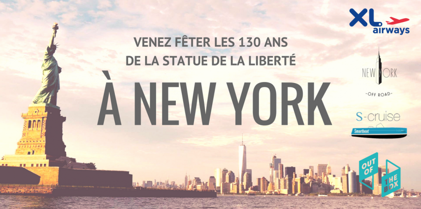 Concours ! Venez fêter les 130 ans de la statue de la liberté à New York