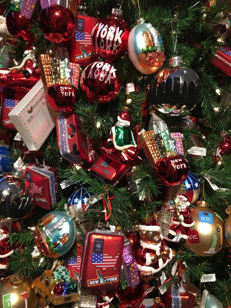 Macy's décoration Noël
