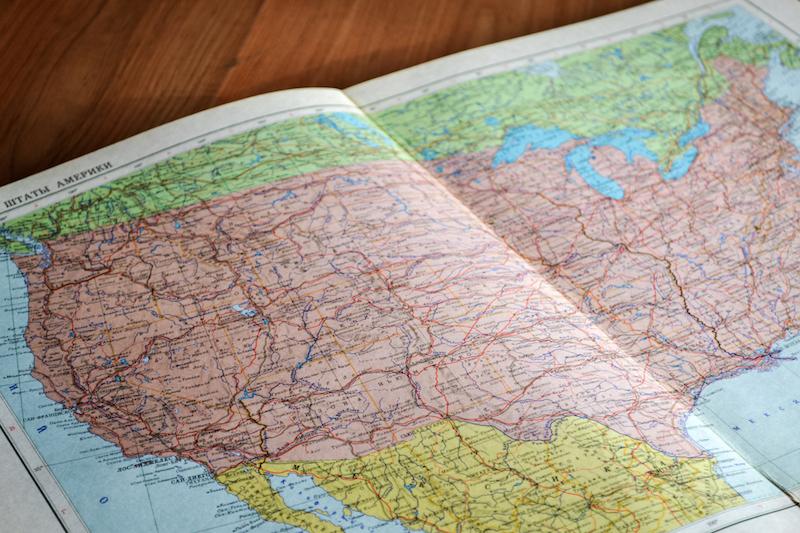 Carte USA New York Off Road