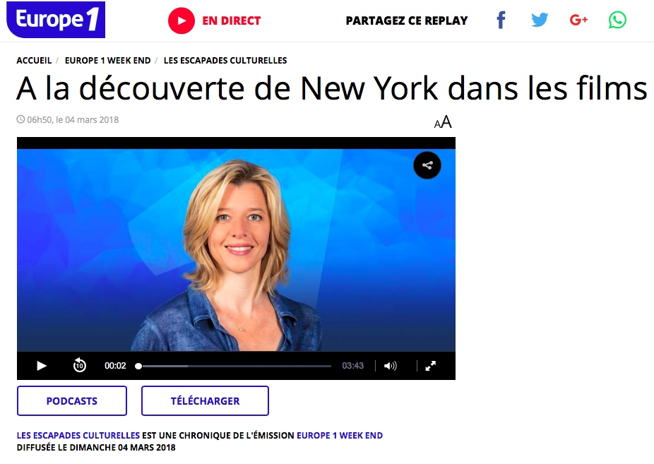 New York Off Road sur Europe1