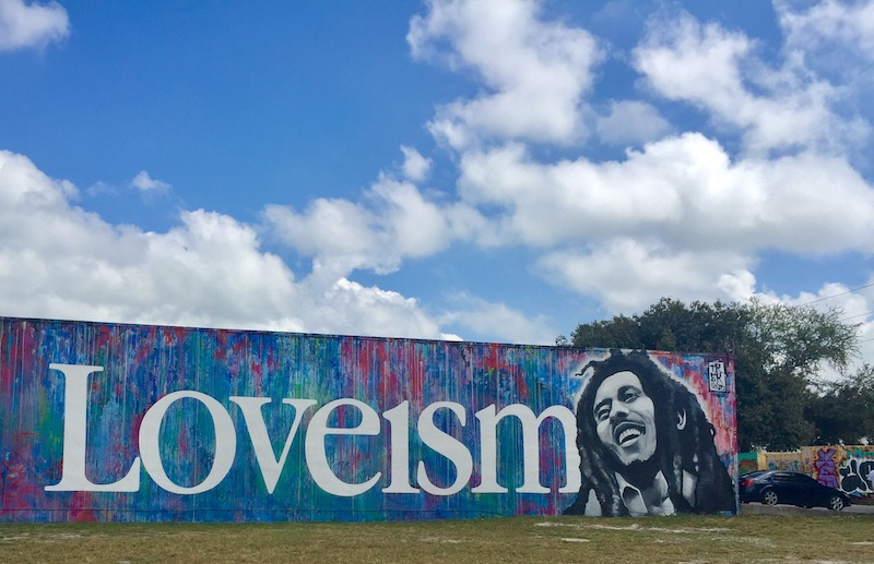 Miami Off Road-street-art-One-Love-loveism