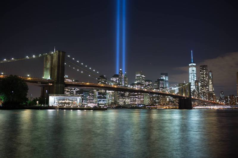 Tribute in light - Que faire à New York en septembre 2017 sur le blog New York Off Road