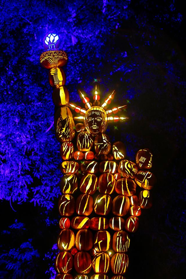 The Great Jack O'Lantern Blaze Liberty