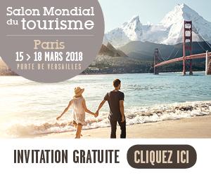 Invitation gratuite au salon du tourisme de Paris