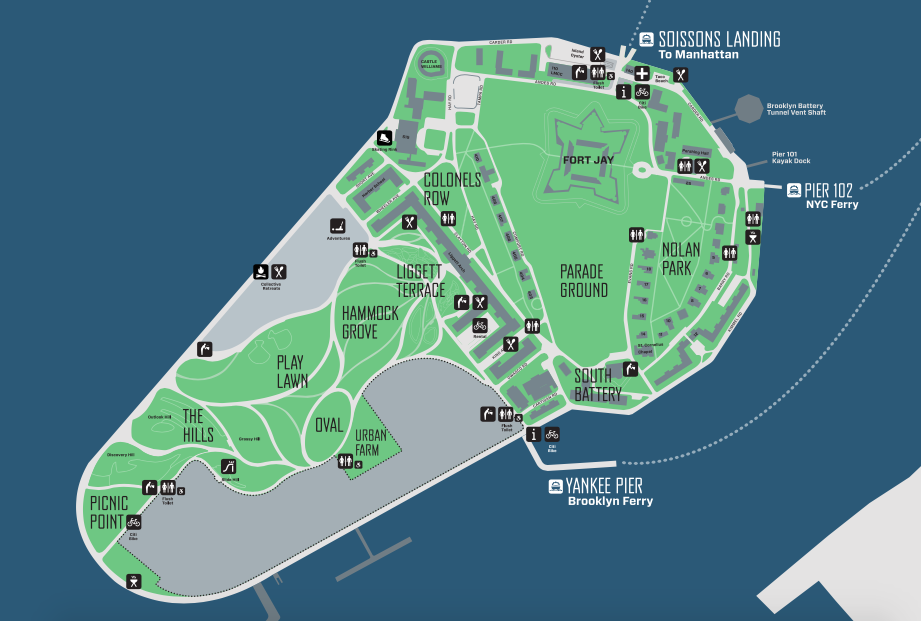Governors Island, une île pleine de surprises à New York - Le blog New York Off Road