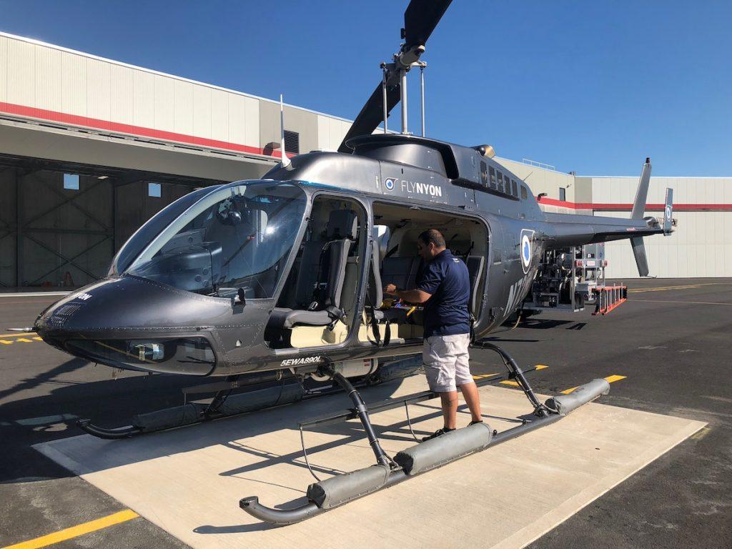 Hélicoptère FlyNYON