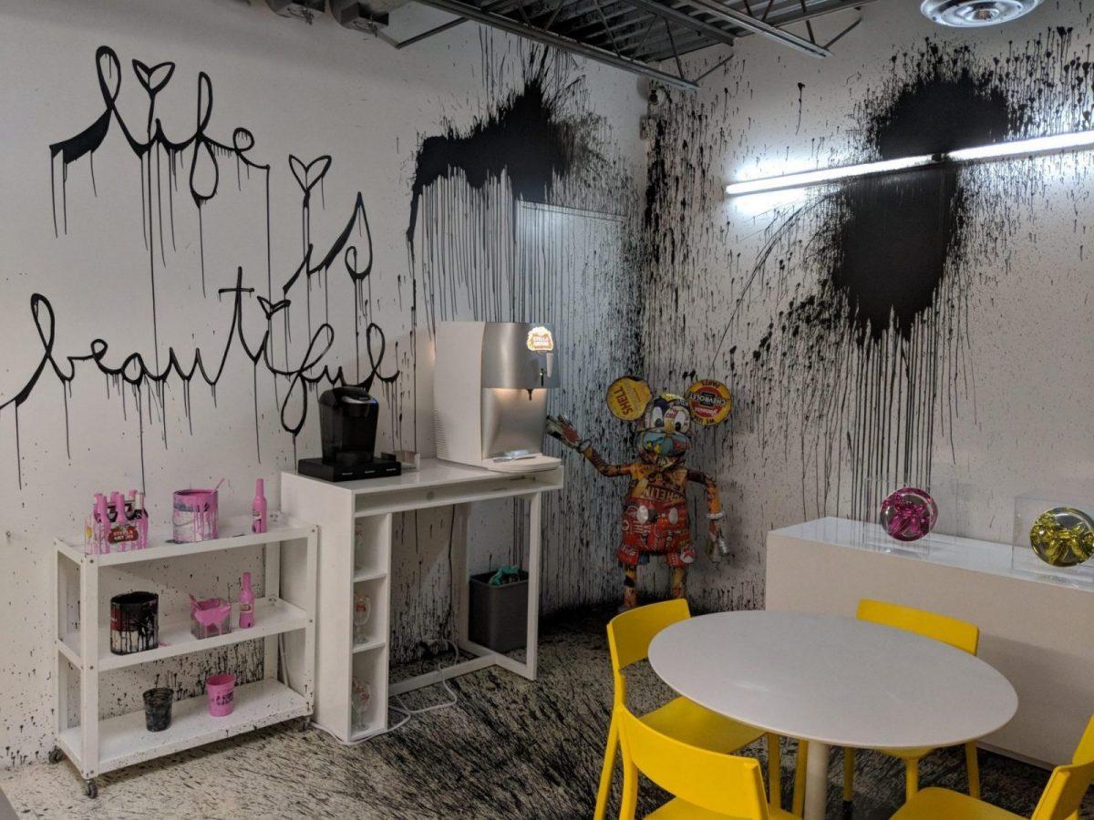 Intérieur d'une galerie d'art très originale à Chelsea - Blog que faire à chelsea ? Visiter new york avec new york off road et retrouver toutes nos adresses
