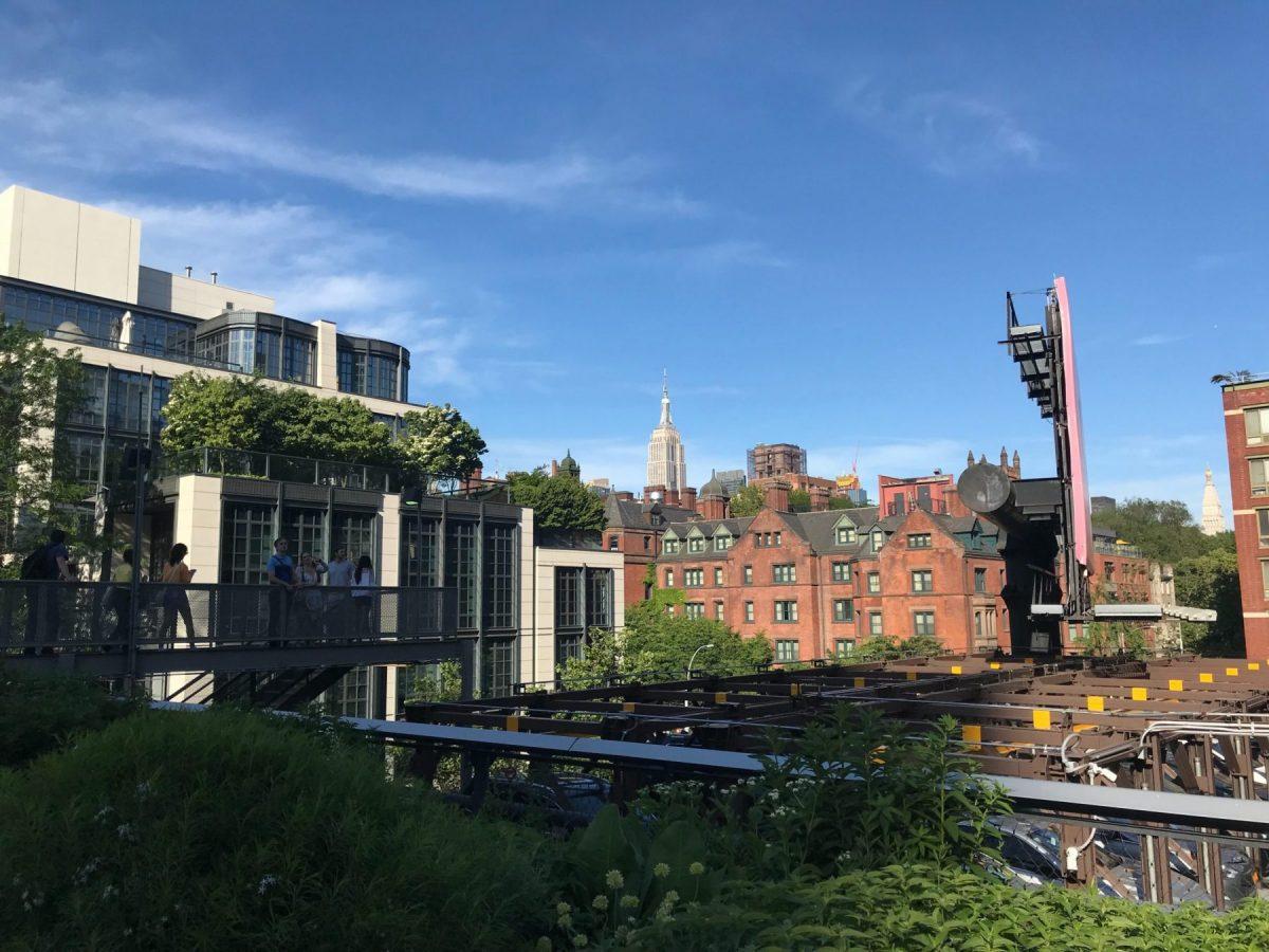Vue de la Highline, ancienne voie ferré réhabilité en balade urbaine - Blog que faire à chelsea ? Visiter new york avec new york off road et retrouver toutes nos adresses