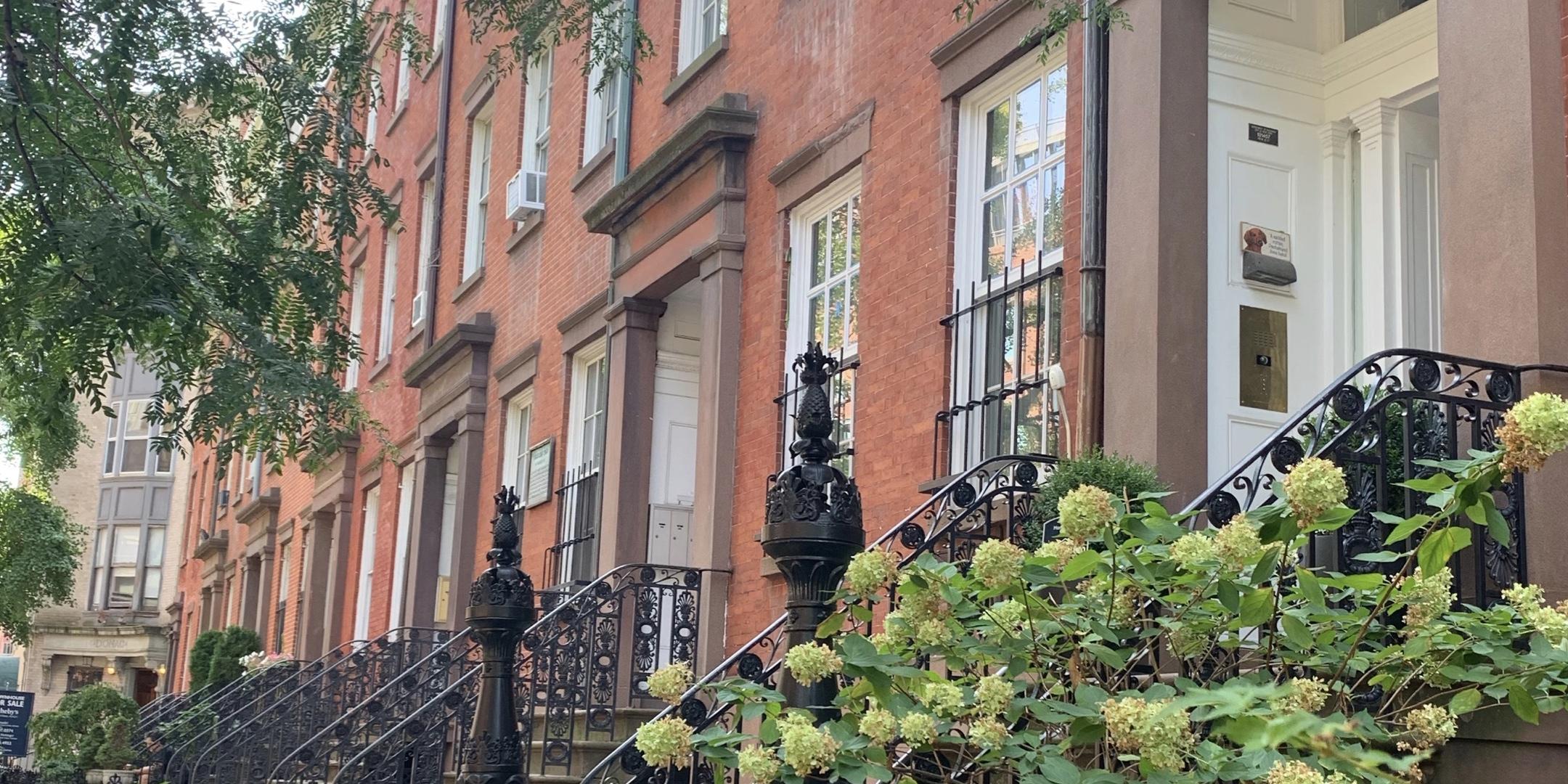 Cushman Row ou maisons typiques à Chelsea, - Blog que faire à chelsea ? Visiter new york avec new york off road et retrouver toutes nos adresses